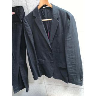 ワコマリア(WACKO MARIA)の14ss WACKOMARIA GUILTYPARTIES 麻素材 スーツ M(セットアップ)
