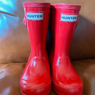 ハンター(HUNTER)のハンター レインブーツ 赤 14センチ(長靴/レインシューズ)