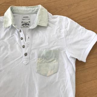 ディーゼル(DIESEL)のDIESEL 半袖 ポロシャツ 袖、襟デニム生地(ポロシャツ)