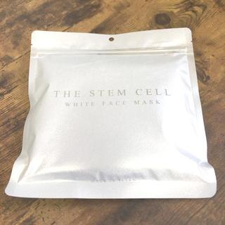 THE STEM CELL ホワイトフェイスマスク 30枚入り フェイスパック(パック/フェイスマスク)