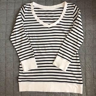 ベイフロー(BAYFLOW)のBAYFLOW ベイフロー 七分袖Tシャツ M(Tシャツ(長袖/七分))