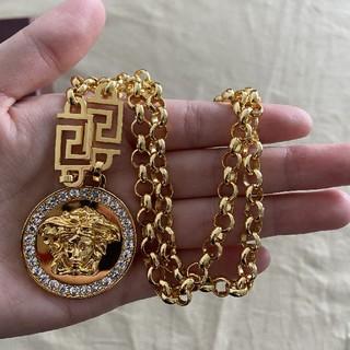 ヴェルサーチ(VERSACE)の売り上げ VERSACEヴェルサーチ ネックレス メンズ 美品(ネックレス)