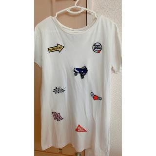 レピピアルマリオ(repipi armario)のrepipi armario ロングTシャツ(Tシャツ/カットソー)