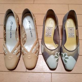 ミラショーン(mila schon)の ブランド靴 23.5センチ 上品なスタイルです(ハイヒール/パンプス)