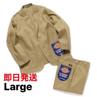 ディッキーズ(Dickies)のLサイズ Dickies × TRIPSTER × BEAMS スーツ(セットアップ)
