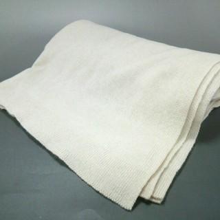 ジルサンダー(Jil Sander)のジルサンダー マフラー美品  - 白 ウール(マフラー/ショール)