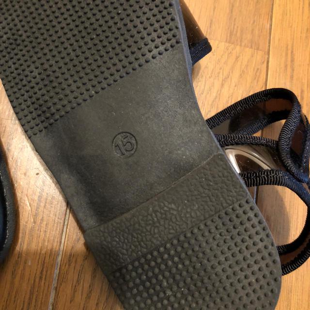 BREEZE(ブリーズ)のキッズサンダル15センチ キッズ/ベビー/マタニティのキッズ靴/シューズ(15cm~)(サンダル)の商品写真