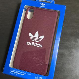 アディダス(adidas)のiPhoneXR adidasスマホケース(iPhoneケース)