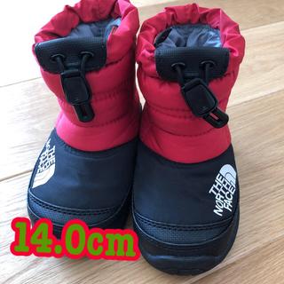 ザノースフェイス(THE NORTH FACE)のキッズ ヌプシ ブーツ 14.0cm ノースフェイス (ブーツ)