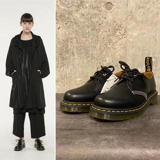 ヨウジヤマモト(Yohji Yamamoto)の新品未使用 ヨウジ Y's × マーチン  3ホール ステッチデザイン シューズ(ローファー/革靴)