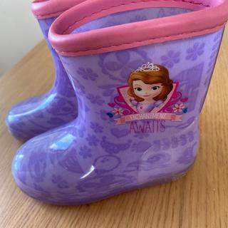 ディズニー(Disney)の長靴 レインブーツ ソフィア 14cm(長靴/レインシューズ)
