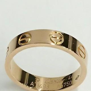 カルティエ(Cartier)のカルティエミニラブリング〔44〕(リング(指輪))