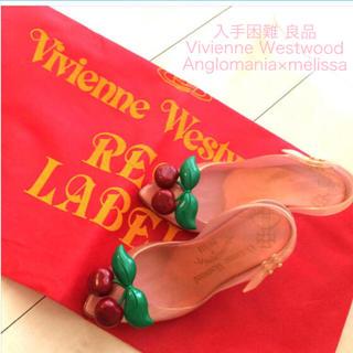 ヴィヴィアンウエストウッド(Vivienne Westwood)の良品 香り付き メリッサコラボヒール(ハイヒール/パンプス)