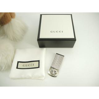 グッチ(Gucci)のグッチ マネークリップ 猫 Sv925 お札ホルダー シルバー キャット 新品2(マネークリップ)