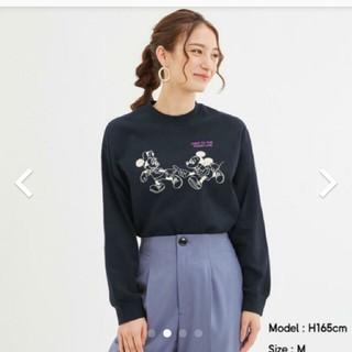 ジーユー(GU)のジーユー ディズニー ロングスリーブT(Tシャツ(長袖/七分))