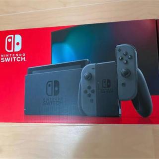 ニンテンドースイッチ(Nintendo Switch)のスイッチ 本体 グレー(家庭用ゲーム機本体)