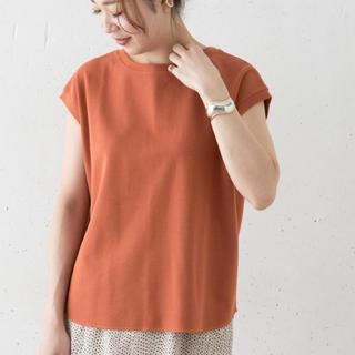 アーバンリサーチロッソ(URBAN RESEARCH ROSSO)のROSSO タックサーマルフレンチTシャツ(Tシャツ(半袖/袖なし))