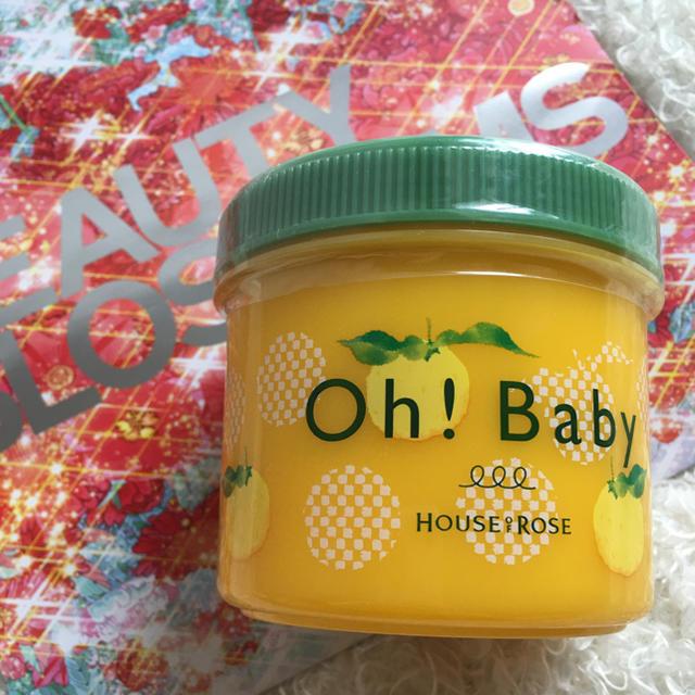 HOUSE OF ROSE(ハウスオブローゼ)のハウス オブ ローゼ Oh! Baby ボディ スムーザー YZ(ゆずの香り) コスメ/美容のボディケア(ボディスクラブ)の商品写真