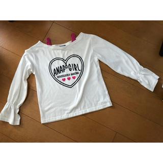 アナップキッズ(ANAP Kids)のANAP GIRL  長Tシャツ Sサイズ(シャツ/ブラウス(長袖/七分))