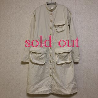 ヤエカ(YAECA)のdosa/ organic kahdi cotton shirts op(ひざ丈ワンピース)