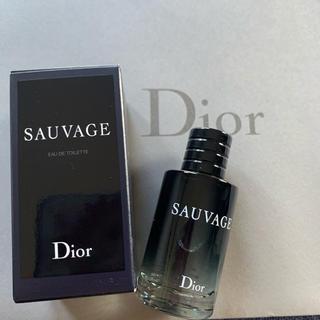 クリスチャンディオール(Christian Dior)のDior ⭐️ 香水  10ml  ソヴァージュ   ミニボトル  ディオール(香水(男性用))