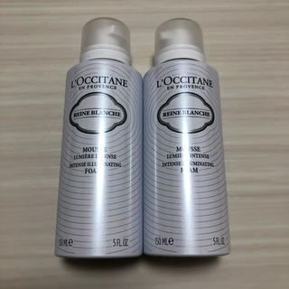 ロクシタン(L'OCCITANE)のレーヌブランシュ 洗顔 2セット(洗顔料)