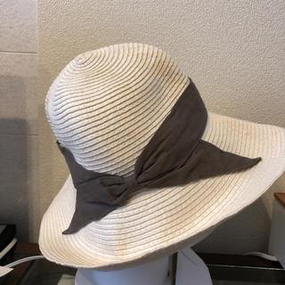 アーバンリサーチ(URBAN RESEARCH)のアーバンリサーチ 白 麦わら帽子(麦わら帽子/ストローハット)