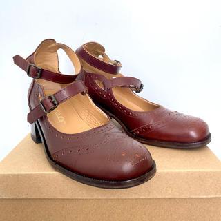 ジェーンマープル(JaneMarple)のジェーンマープル 本革2連ストラップシューズ Jane marple(ローファー/革靴)