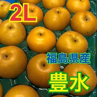 ①ユリ様専用 2L【生産者直送】豊水 2L 5kg 福島県産 送料込み(フルーツ)