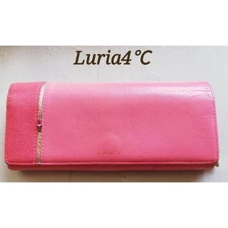 ヨンドシー(4℃)のLuria4℃  ルリア4℃ レディース 長財布 財布(財布)