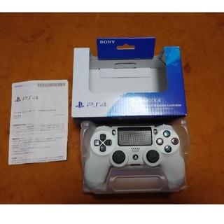 PlayStation4 純正コントローラー ホワイト(その他)