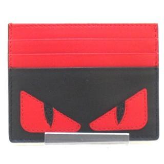 フェンディ(FENDI)のフェンディ カードケース美品  7M0164(名刺入れ/定期入れ)