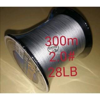 YEMIHT BRAID PEライン300mグレーカラー2.0#18LB(釣り糸/ライン)