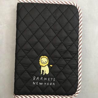 バーニーズニューヨーク(BARNEYS NEW YORK)の未使用品 バーニーズニューヨーク 母子手帳ブラック(母子手帳ケース)