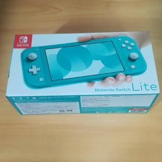 ニンテンドースイッチ(Nintendo Switch)の新品 Nintendo Switch Lite ターコイズ (携帯用ゲーム機本体)