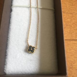 ポンテヴェキオ(PonteVecchio)のポンテヴェキオ ネックレスK18YG×ダイヤモンド×ブラックダイヤ 0.14ct(ネックレス)
