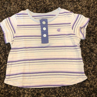 フーセンウサギ(Fusen-Usagi)の美品 難あり リシェス  80センチ【70センチ】Tシャツ半袖 さかな セレク (Tシャツ)
