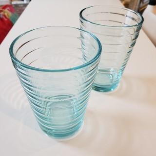 イッタラ(iittala)のiittala イッタラ アイノ アールト 330ml ウォーターグリーン2個(グラス/カップ)