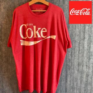 コカコーラ(コカ・コーラ)のビンテージ古着 コカコーラ Enjoy Coke 半袖Tシャツビックシルエット (Tシャツ/カットソー(半袖/袖なし))
