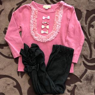 フェフェ(fafa)のパンパンチュチュ  セット 90(Tシャツ/カットソー)