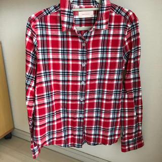レピピアルマリオ(repipi armario)のレピピ チェックシャツ ネル生地 XS(ブラウス)