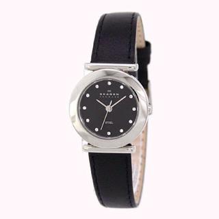 スカーゲン(SKAGEN)の値下げ【新品未使用・箱付き】skagen スワロフスキー レディース スカーゲン(腕時計)