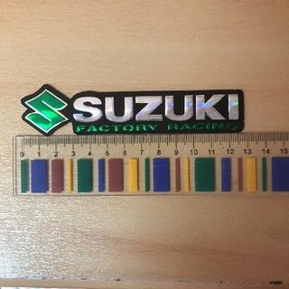 スズキ(スズキ)のスズキ SUZUKI ホログラム ステッカー ワゴンR ハスラー ジムニー 青(車外アクセサリ)