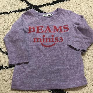 ビームス(BEAMS)のbeams mini BEAMS ミニ ロゴロンT ユナイテッドアローズ(Tシャツ/カットソー)