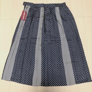 サンタモニカ(Santa Monica)のレトロ プリーツスカート(ひざ丈スカート)