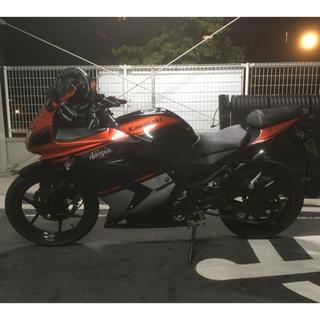 カワサキ(カワサキ)のニンジャ250r  黒オレンジ(車体)