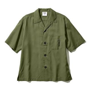 GU - ジーユー  オープンカラーシャツ