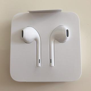 アイフォーン(iPhone)のイヤホン【iPhone正規品】(ヘッドフォン/イヤフォン)