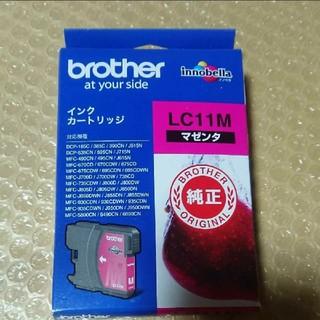 純正インクカートリッジ LC11M マゼンタ インク brother(オフィス用品一般)