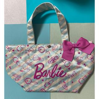 バービー(Barbie)のバービー ミニトートバック リボン お弁当バック(バッグ)